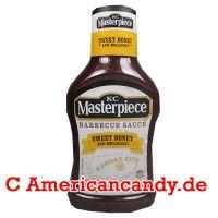 KC Masterpiece Sweet Honey and Molasses BBQ Sauce 510g
