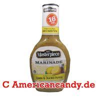 KC Masterpiece Marinade Lemon & Cracked Pepper 473ml