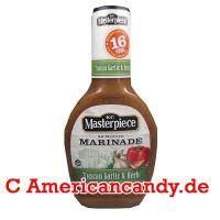KC Masterpiece Marinade Tuscan Garlic & Herb 473ml