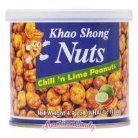Khao Shong Nuts Chili 'n Lime Peanuts
