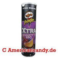 Pringles Xtra Saucy BBQ
