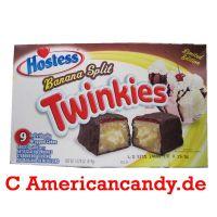 Hostess Banana Split Chocodiles Twinkies (9 single Cakes) 419g
