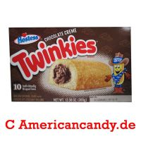 Hostess Chocolate Twinkies (10 single Cakes) 385g