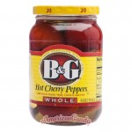 B&G Hot Cherry Peppers 473ml