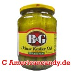 B&G Deluxe Kosher Dill Spears 710ml