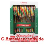 Spangler Candy Canes Cherry colored 170g