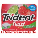 Trident Twist Strawberry & Lime