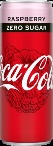 Coca Cola Raspberry Zero Sugar