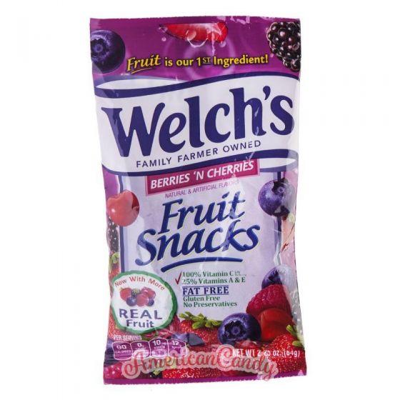 Welch's Fruit Snacks Berries 'n Cherries