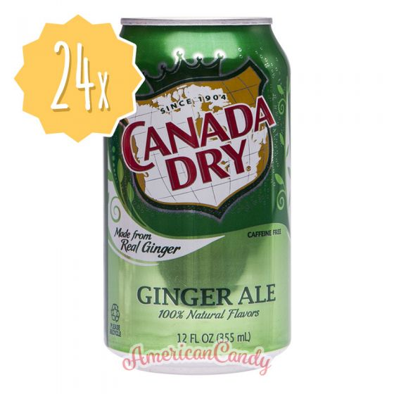 24x Canada Dry Ginger Ale