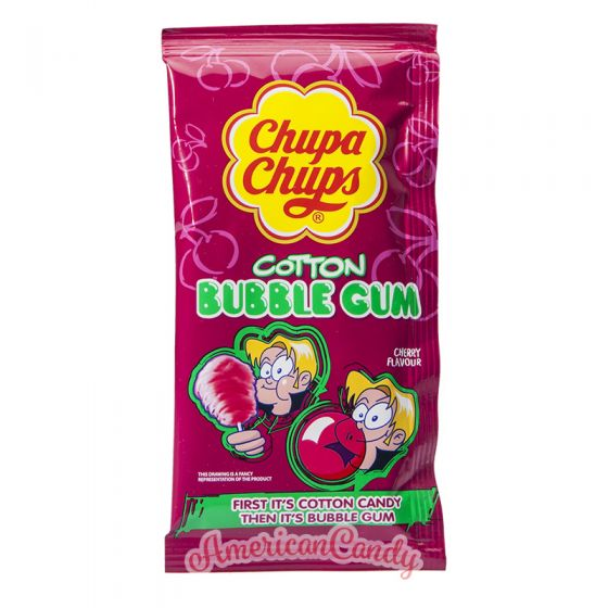 Chupa Chups Cotton Bubble Gum Cherry