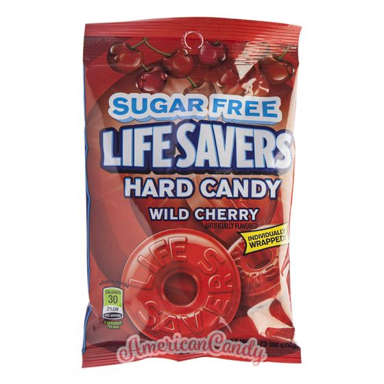 Lifesavers Hard Candy Wild Cherry Sugar free