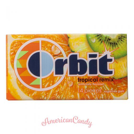 Wrigley's Orbit Tropical Remix