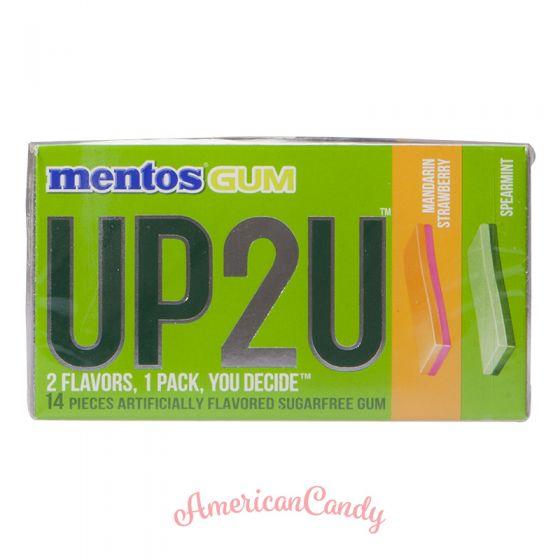 Mentos Gum UP2U Mandarin-Strawberry & Spearmint