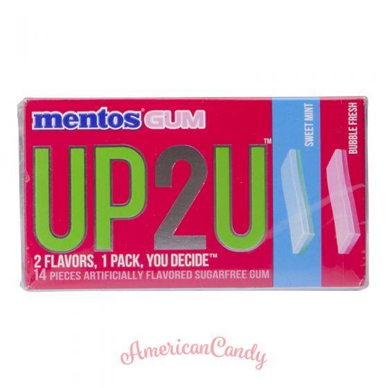 Mentos Gum UP2U Sweet Mint & Bubble Fresh