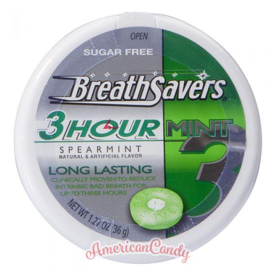Breathsavers 3Hour Mint Spearmint BigPack