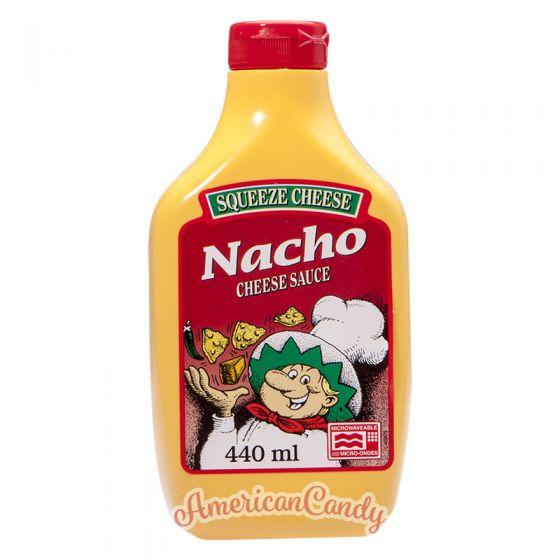 Squeeze Cheese Nacho Cheese Sauce 440ml