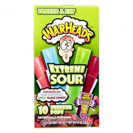 Warheads Extreme Sour Wassereis 10er