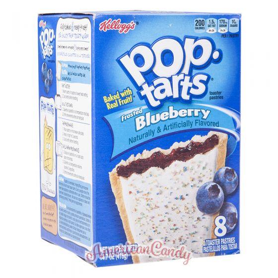 Pop Tarts Frosted Blueberry (2 Toast-Taschen)