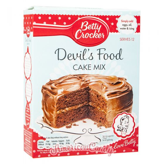 Betty Crocker Devil's Chocolate Cake Mix