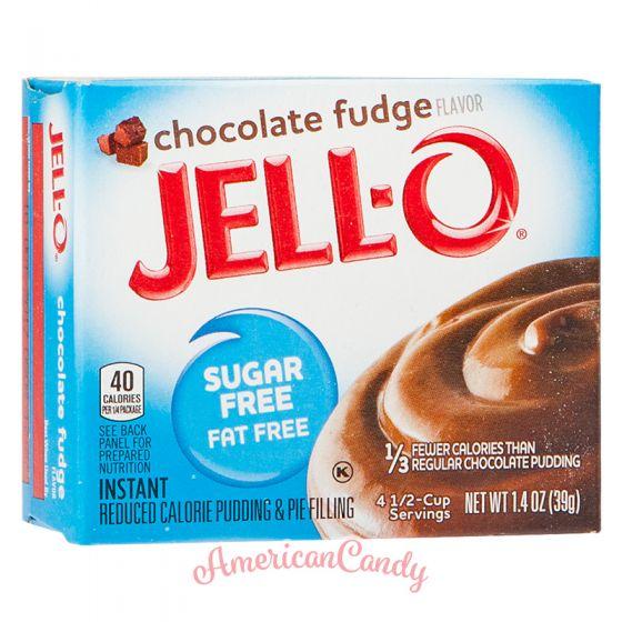 Jell-O Instant Pudding & Pie Filling Chocolate Fudge sugar free