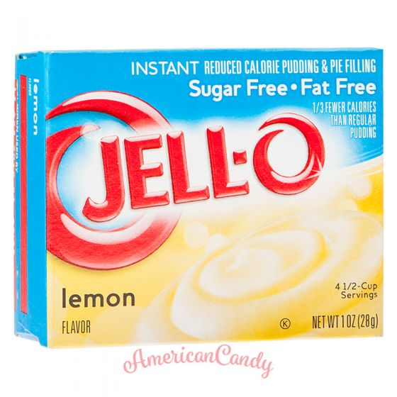 Jell-O Lemon Instant Pudding & Pie Filling sugar free