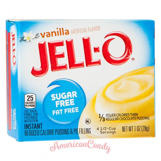 Jell-O Vanilla Instant Pudding & Pie Filling sugar free