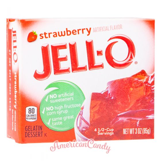 Jell-O Instant Pudding Gelatin Dessert Strawberry