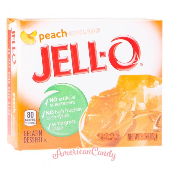 Jell-O Instant Pudding Gelatin Dessert Peach