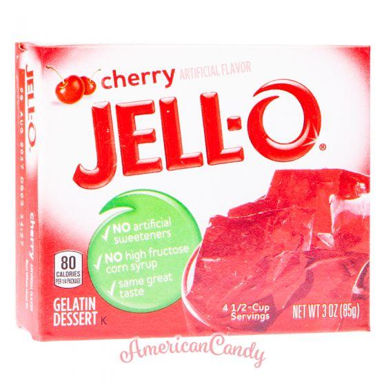 Jell-O Instant Pudding Gelatin Dessert Cherry