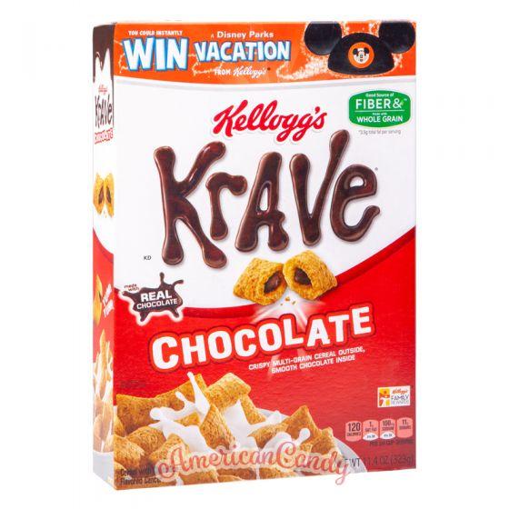 Kellogg's KRAVE Chocolate Multi-grain Cereals