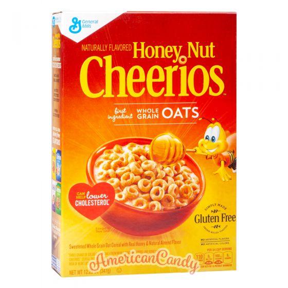 Honey Nut Cheerios Cereals 612g