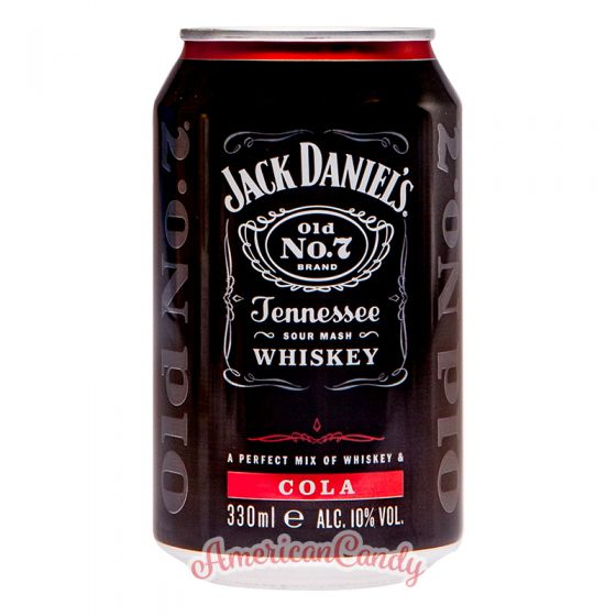 24x Jack Daniel's Cola  10% Alc.Vol.