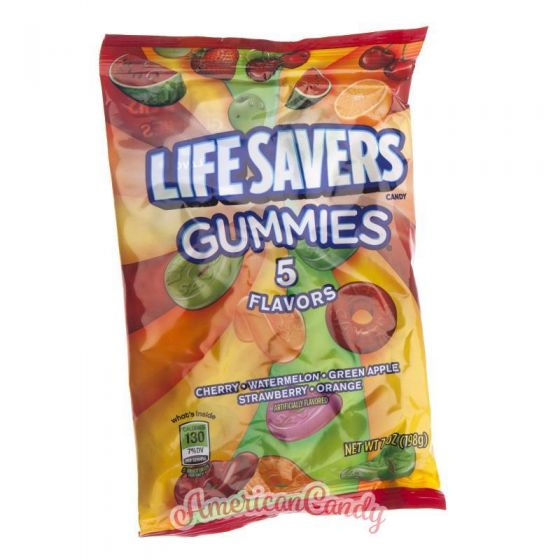 Lifesavers Gummies 5 Flavors GIANT Pack 198g