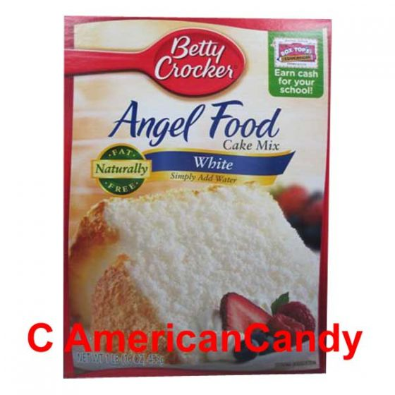 Betty Crocker Angel Food White Cake Mix 453g