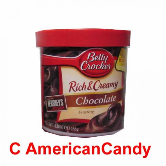 Betty Crocker Rich & Creamy Chocolate Frosting 453g