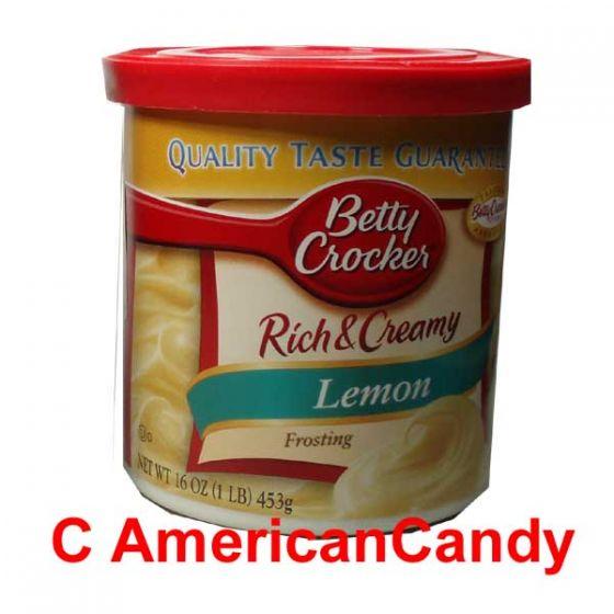 Betty Crocker Rich & Creamy Lemon Frosting 453g