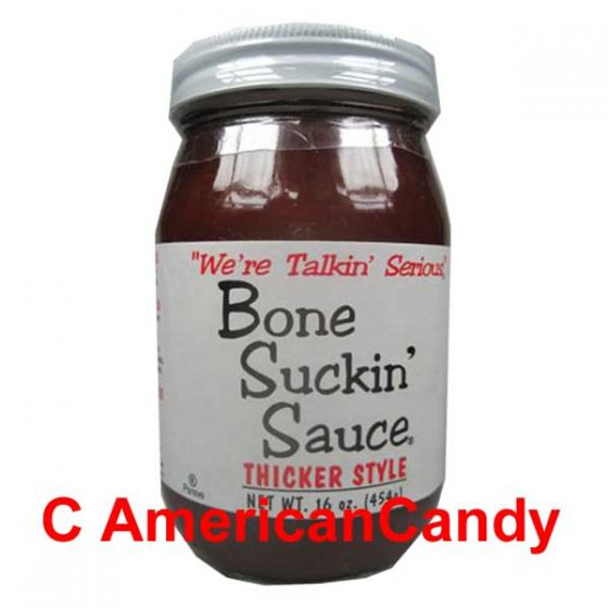 Bone Suckin' Barbecue Sauce thicker style 454g