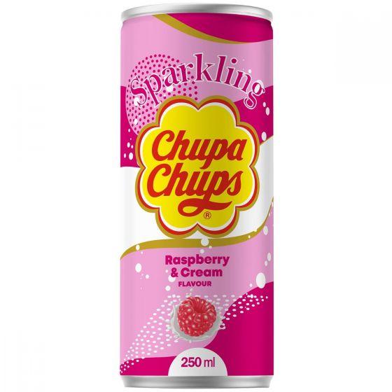 Chupa Chups Sparkling Raspberry & Cream