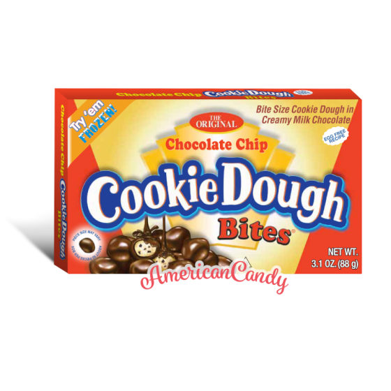 Chocolate Chip Cookie Dough Bites Theater Box