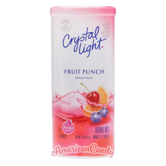 Crystal Light Natural Fruit Punch