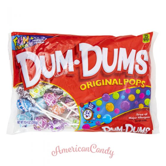 Dum Dums Fun Flavors Original Lollipop