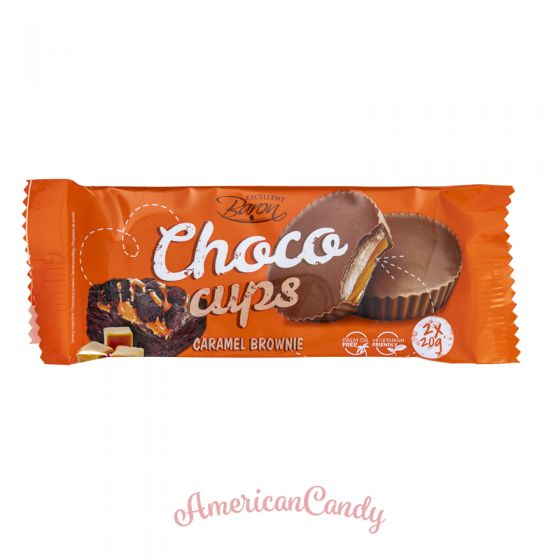Choco Cups Caramel Brownie