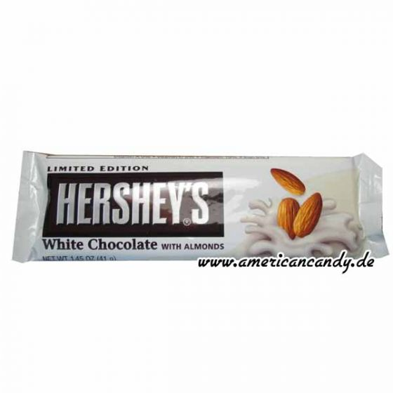 Hershey's white Chocolate with Almonds