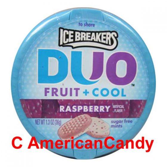 Ice Breakers Mints DUO Fruit + Cool Raspberry sugar free