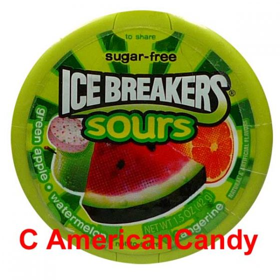 Ice Breakers Mints Fruit Sours sugar free