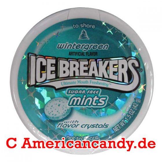 Ice Breakers Mints Wintergreen sugar free