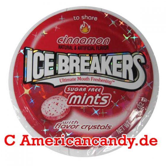Ice Breakers Mints Hot Cinnamon sugar free