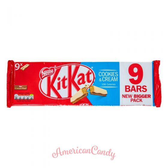 KitKat Cookies & Cream 9er Pack