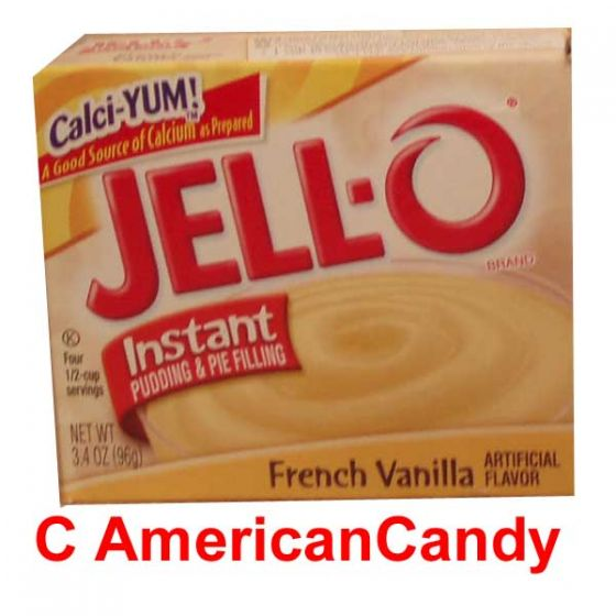 Jell-O French Vanilla Cream Instant Pudding & Pie Filling